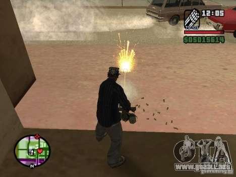 Overdose effects V1.3 para GTA San Andreas octavo de pantalla