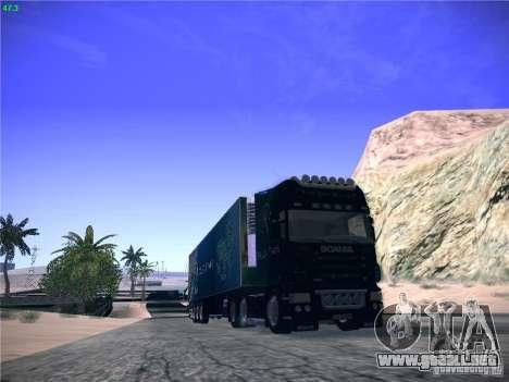Scania R620 Dubai Trans para GTA San Andreas left