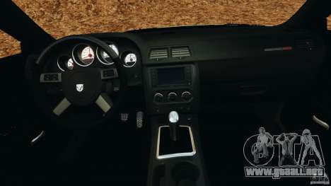 Dodge Rampage Challenger 2011 v1.0 para GTA 4 visión correcta