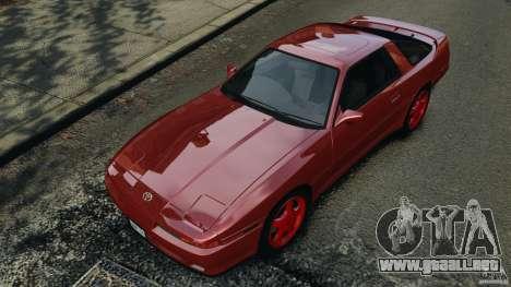 Toyota Supra 3.0 Turbo MK3 1992 v1.0 [EPM] para GTA 4 interior