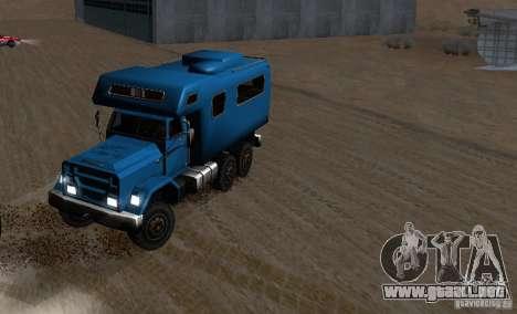 Journey 6x6 Enterable V1 para visión interna GTA San Andreas