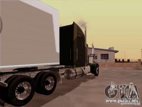 Freightliner FLD 120 Classic XL para la visión correcta GTA San Andreas