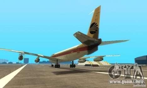 Boeing 707-300 para GTA San Andreas left