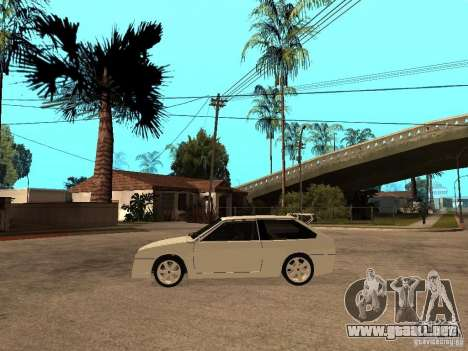 VAZ 2108 Devil V.2 para GTA San Andreas left