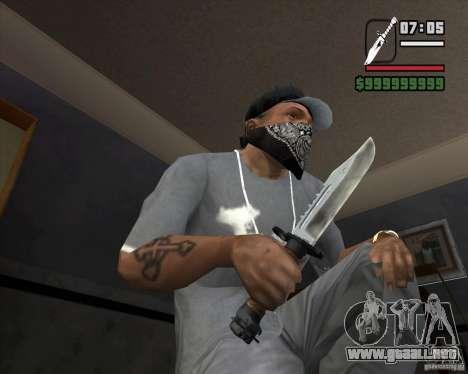 El cuchillo de la acosadora # 1 para GTA San Andreas