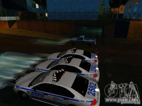 Chevrolet Impala NYPD para el motor de GTA San Andreas