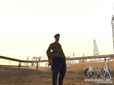 Oficial soviético BOB para GTA San Andreas