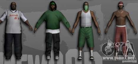 Beta Peds para GTA San Andreas tercera pantalla