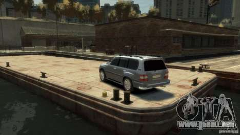 TOYOTA LAND CRUISER 100 para GTA 4 left