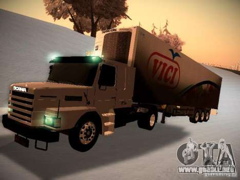 Scania T112 para GTA San Andreas left