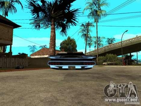 Voozer para GTA San Andreas vista posterior izquierda