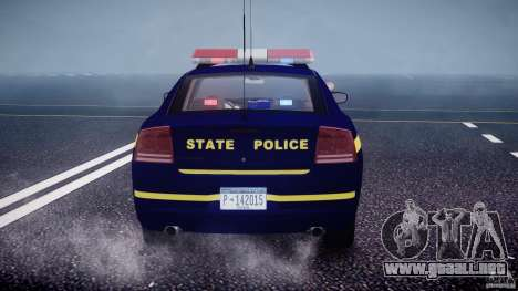 Dodge Charger NY State Trooper CHGR-V2.1M [ELS] para GTA 4 ruedas