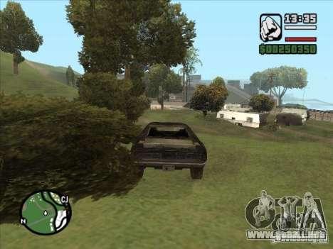 Malice from FlatOut 2 para la visión correcta GTA San Andreas