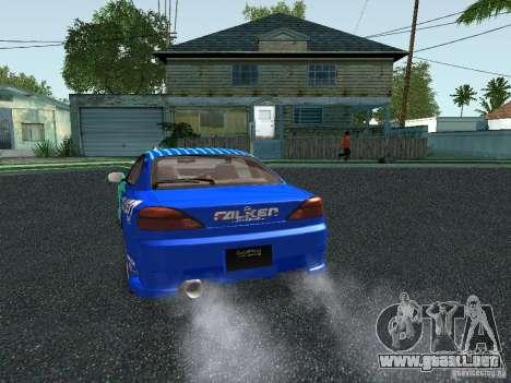 Nissan Silvia S15 Tunable para vista inferior GTA San Andreas