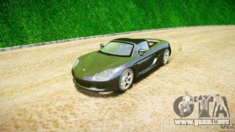 Porsche Carrera GT v.2.5 para GTA 4 vista hacia atrás