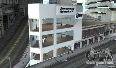 Concesionario BMW para GTA San Andreas