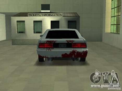 Sangre en las máquinas para GTA San Andreas segunda pantalla