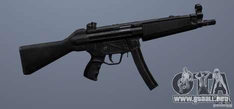 MP5 para GTA San Andreas sucesivamente de pantalla