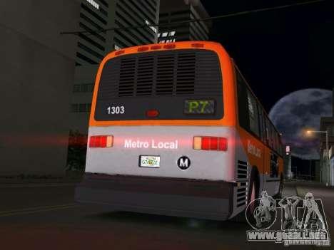 GMC RTS para GTA Vice City vista lateral izquierdo