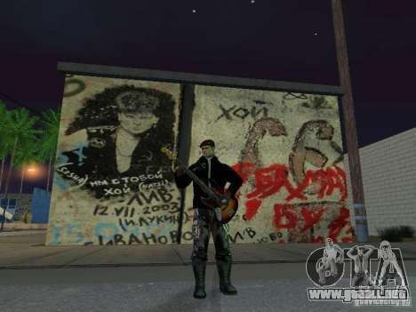 Pared rememorativa George Hoey para GTA San Andreas tercera pantalla