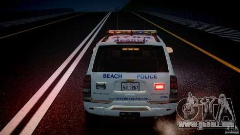Chevrolet Trailblazer Police V1.5PD [ELS] para GTA motor 4