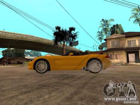 Dodge Viper SRT10 Impostor Tuning para GTA San Andreas left