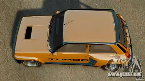 Renault 5 Turbo para GTA 4 visión correcta