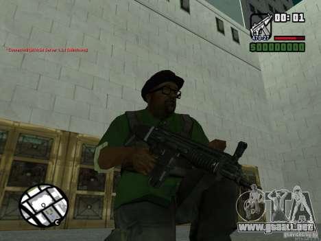Black Weapon by ForT para GTA San Andreas tercera pantalla