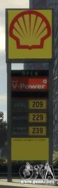 Shell Petrol Station para GTA 4 séptima pantalla