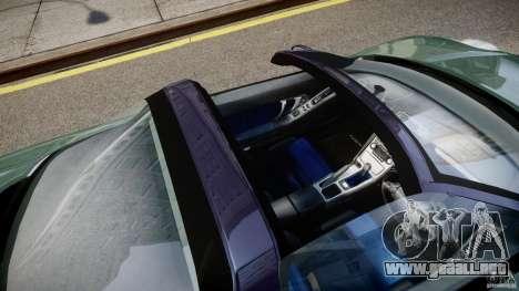 Honda NSX NA2 [Beta] para GTA 4 vista superior