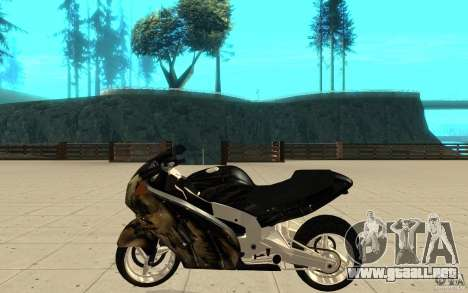 GTAIV TLAD Hakuchou Custom Version [paintjob] para GTA San Andreas left