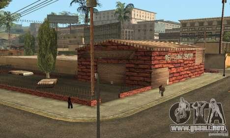 Grove Street 2013 v1 para GTA San Andreas sucesivamente de pantalla