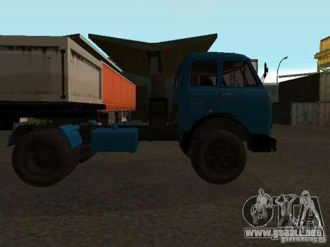 MAZ-504 y para la visión correcta GTA San Andreas