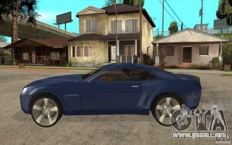 Chevrolet Camaro Concept Tunable para GTA San Andreas left