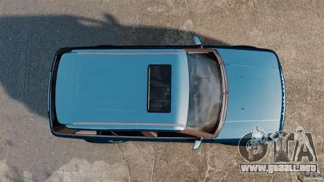 Land Rover Range Rover Sport HSE 2010 para GTA 4 visión correcta