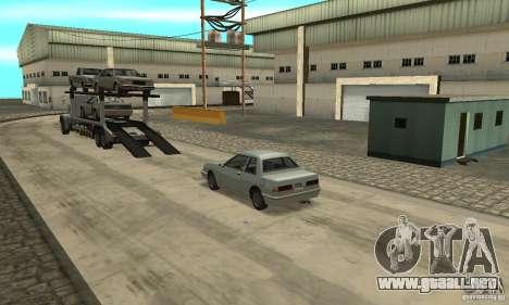 Avtoparkovŝik para GTA San Andreas tercera pantalla