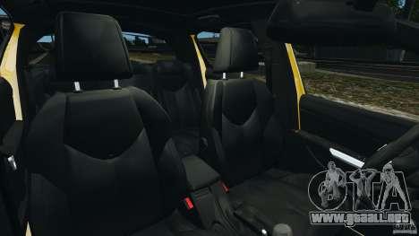 Peugeot 308 GTi 2011 Police v1.1 para GTA 4 vista interior