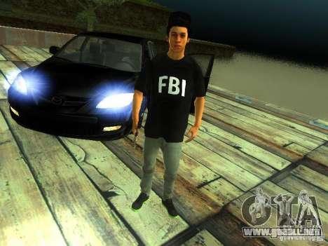 Chico en el FBI para GTA San Andreas