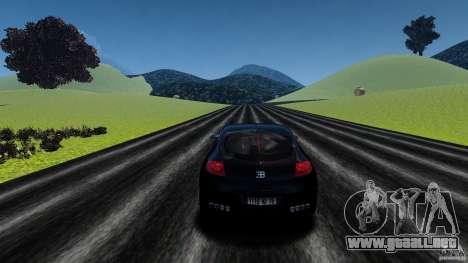 Bugatti Galibier 2009 para GTA 4 vista desde abajo
