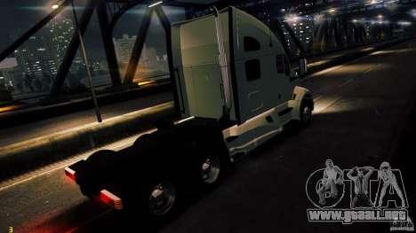Kenworth T700 2010 Final para GTA 4 left
