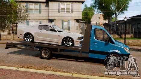 Mercedes-Benz Sprinter 3500 Car Transporter para GTA 4 left