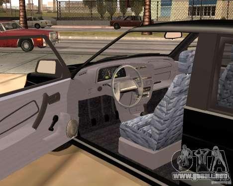 2113 VAZ para la visión correcta GTA San Andreas