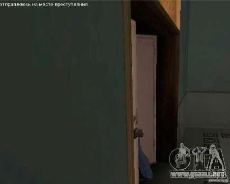 Ver TV para GTA San Andreas tercera pantalla