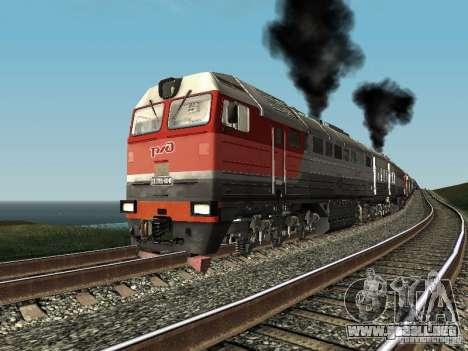 2te116u-0040 RZD para GTA San Andreas