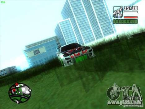 Mazda RX-7 Drift Version para visión interna GTA San Andreas