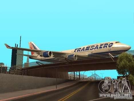 Boeing 747-400 para la visión correcta GTA San Andreas