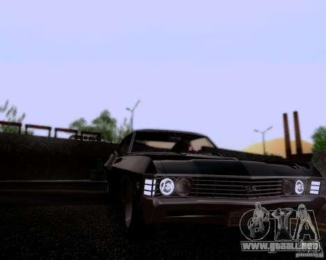 Super Natural ENBSeries para GTA San Andreas