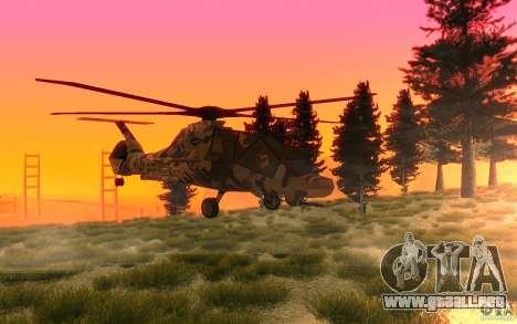 Sikorsky RAH-66 Comanche Camo para GTA San Andreas left