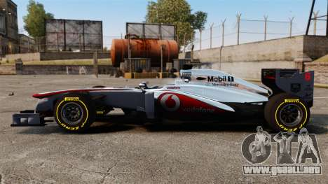 McLaren MP4-28 para GTA 4 left