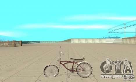 Lowrider Bicycle para GTA San Andreas left